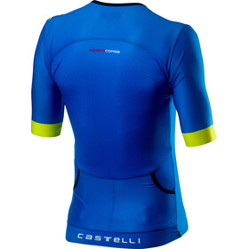 Castelli Free Speed 2 Race Mouwloos Shirt Heren, drive blue